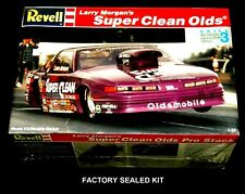 REVELL 1:24 scale Larry Morgan's SUPER CLEAN OLDS No 7362 FACTORY SEALED