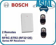 BOSCH Alarm Remote Kit Receiver RFRC-STR2 + Premium Remotes RF3212E 880/6000