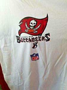 Tampa Bay Buccaneers NFL Reebok Short Sleeve T Shirt White