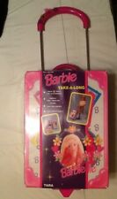 1997 BarbieTake-a-long Rolling Case Holds 6 Barbies and Accessories New Tara