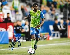 Kelvin Leerdam signed Seattle Sounders 8x10 photo MLS Soccer autographed