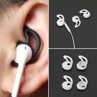 2Pairs Silicone Headset Earbuds Cover Anti-Lost Ear hook case for Apple Airpods