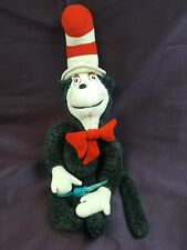 """Dr Seuss Cat in the Hat vintage plush character animal umbrella Coleco 1983 25"""""""