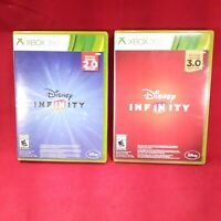Lot of 2 Disney Infinity 2.0 & 3.0 Xbox 360 games