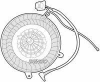Denso Cabine Ventilateur / Moteur Pour Mercedes-Benz Classe E Berline 3.0