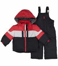 LONDON TIME® Toddler Boys' 2T Red & Black 2-Pc. Snowsuit Set NWT
