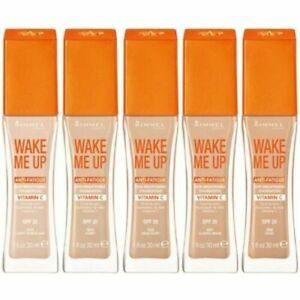 Rimmel WAKE ME UP Foundation Anti-Fatigue 30ml- Choose Your Shade NEW