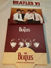 2015 The Beatles Album Cover Wall Calendar 12 X 12 With Case