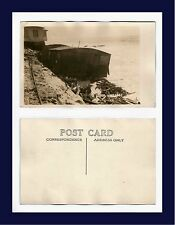 CALIFORNIA PACIFIC PALISADES STORM WRECKAGE REAL PHOTO POSTCARD NUMBER 9