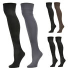 2 Pairs: Steve Madden Fleece-Lined Knee High Socks