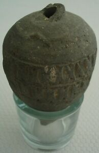 """Medieval Byzantine """"Greek Fire"""" Hand Grenade. 9th - 11th century A.D. 120 mm"""