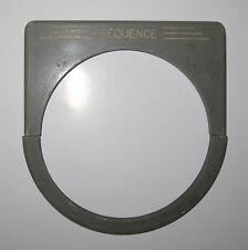 Bronzavia enjoliveur semi circulaire fréquence 151 x140 mm diamètre 110 mm