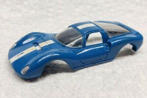 Aurora T-Jet Thunderjet  Dino Ferrari body. Blue