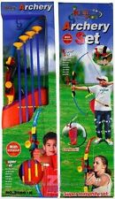 "32"" Toy Archery Bow and Arrow Set for Kids - Four Suction Cup Arrows + Quiver"