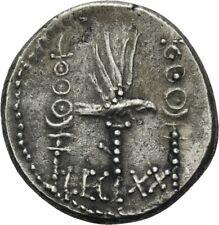 LANZ Römische Republik Denar 32/31 v.Chr. Marc Antonius Legion XX #QW7062