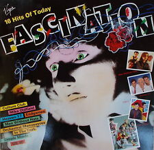 LP Fascination - 16 Hits Of Today ,MINT,cleaned,Virgin,Heaven 17,OMD,America...