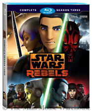 Star Wars Rebels Complete Season 3 on Blu-ray Darth Maul Obi-Wan Animated Series