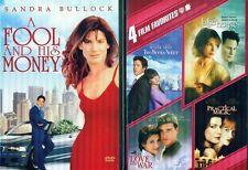 SANDRA BULLOCK: Lake House-Love& War-Two Week Notice-Practical Magic-NEW 3 DVD