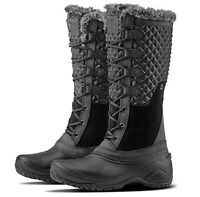The North Face NWB Women's 10 Shellista III Tall Boots Black TNF Suede Insulated
