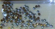 Strasssteinchen Steine hellblau, rund, 2mm, Strass Steinchen, Nailart, Nail Art