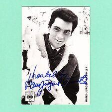 Ansichtskarte Autogramm Hans-Jürgen Bäumler signiert CBS Echt Foto