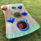 Wooden Foldable Toss Bean Bag Game Set Outdoor games
