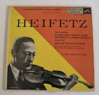"""Jascha Heifetz 10"""" Record HEIFETZ SAINT-SAENS RCA LRM-7055"""