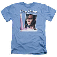 Cry Baby Movie Logo Johnny Depp Licensed Adult Heather T-Shirt All Sizes