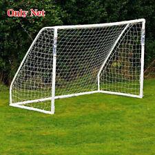 10x6.5Ft Full Size Football Goal Post Soccer Net Polyethylene Outdoor Backyard