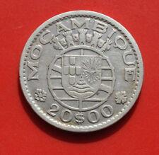 Portugal-Africa Mozambique: 20 Escudos 1952 Silber, KM# 80, F# 1593, VZ-XF