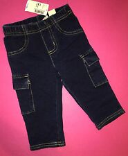 NEW! TCP Baby Girls Jean Capri Pants 3T Pockets Blue Gift! $14.95 Summer