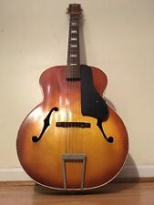 Vintage 1962 Silvertone H162 Archtop Guitar USA Made w/ case