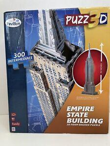 Hasbro PUZZ 3D PUZZLE 300 PC  INTERMEDIATE - EMPIRE STATE BUILDING