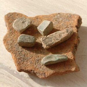 Ingots prepared by Ancient Celtic jewelers.