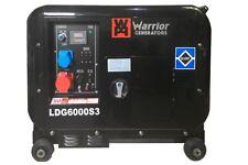 Warrior Ldg6000s3 Silent Diesel Generator 3 Phase