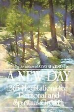 A New Day: 365 Meditations for Personal and Spiritual Growth Anonymus Paperback