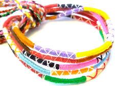 Lot 5 Bracelets Bresiliens de l'Amitié Macramé coton Friendship Porte Bonheur