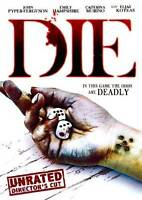 DIE (DVD, Unrated Director's Cut, 2012) Usually ships within 12 hours!!!