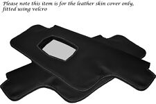 WHITE STITCHING FITS PORSCHE 911 912 1967-1968 2X SUN VISORS LEATHER COVERS ONLY