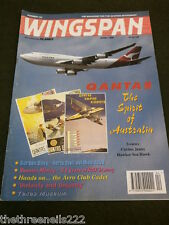 WINGSPAN #134 - QUANTAS - APRIL 1996