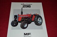 Massey Ferguson 298 Tractor Dealer's Brochure FMD 908-183-25-1