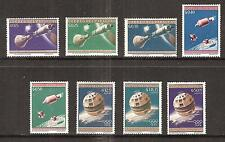 PARAGUAY # 806-813 Perforated Variety MNH SPACE RESEARCH