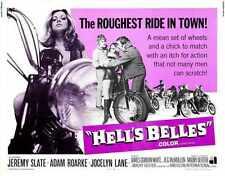 Hells Belles Poster 02 Metal Sign A4 12x8 Aluminium