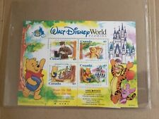 Disney Winnie the Pooh commemorative stamps plate block of 4 limited edition