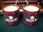 Busch Beer Sconces Vintage Drum set