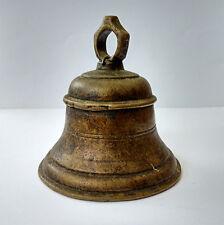 Ancienne cloche de cérémonie temple Inde 19e