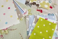 2.5kg Bag of Cotton Oilcloth Offcuts, Remnants Bundle ,Roll Ends for Craft Use