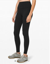 "Lululemon Align Leggings II Black 25"" Nulu Fabric US8/UK12"