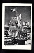 C1950s View of the Replica of the Golden Hind Ship - Southend-on-sea