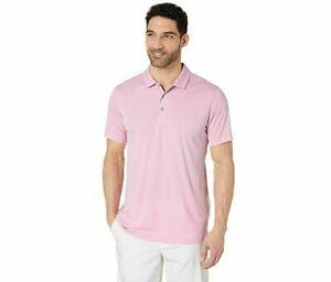 PUMA Men's Rotation Golf Polo Shirt Solid Pale Pink Medium NEW w logo